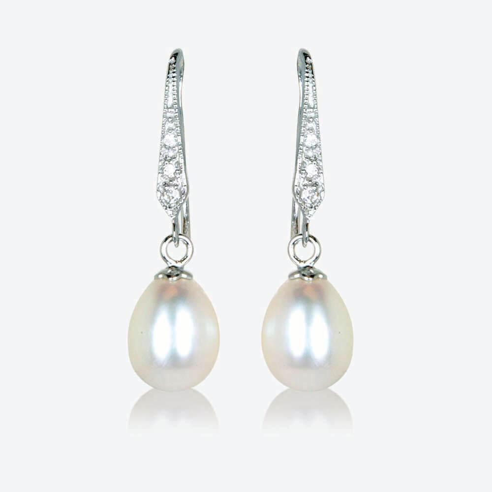 Rhianna Real Sterling Silver Cultured Freshwater Pearl