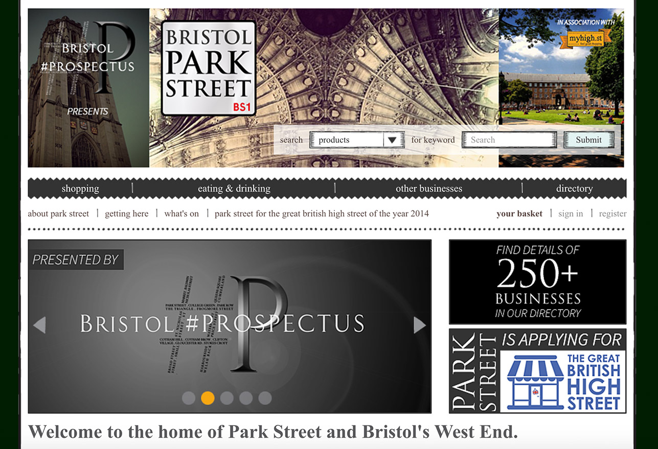 Warren P George Bristol #PROSPECTUS Park Street Website (December 2014)