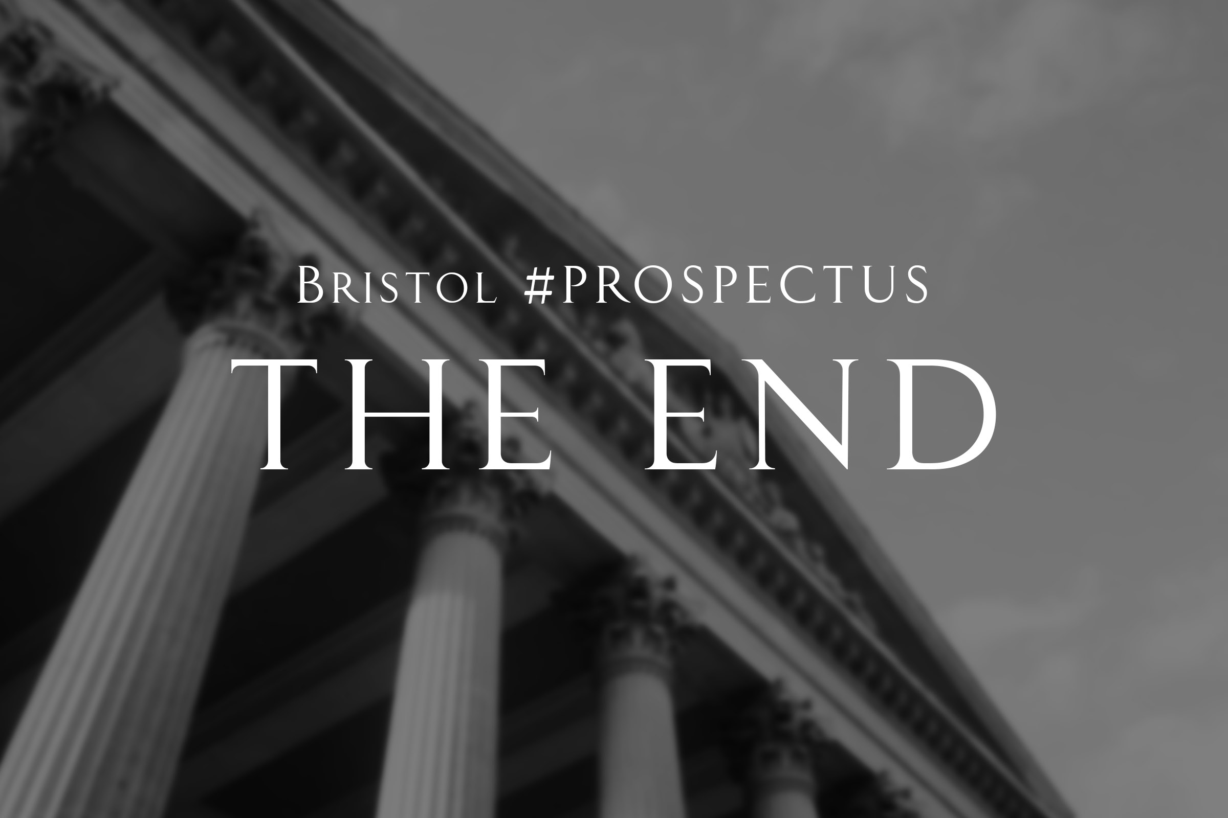 Warren P George Bristol #PROSPECTUS The End Feature
