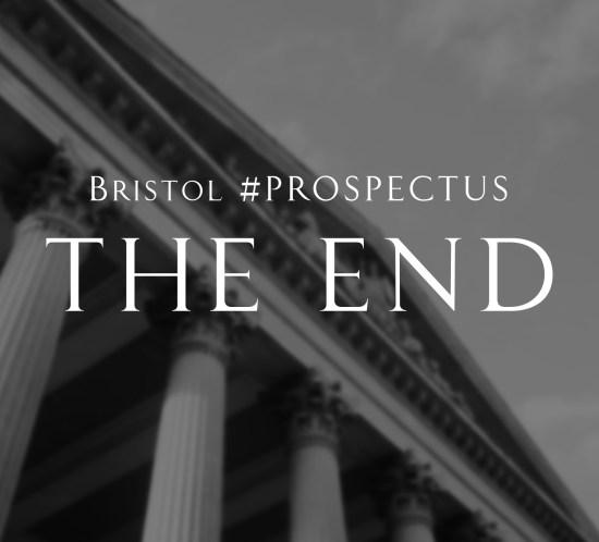 Warren P George Bristol#PROSPECTUS The End Feature