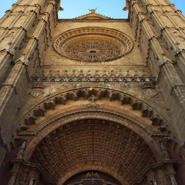 Day Palmas epic gothic cathedral puts everything in perspective nohellip