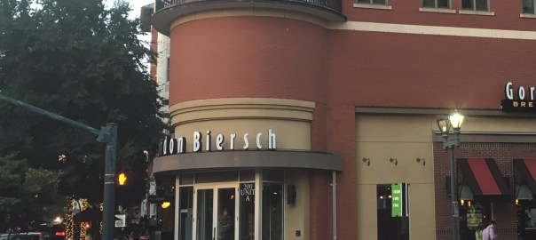 Outside Gordon Biersch