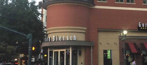 Outside Gordon Biersch