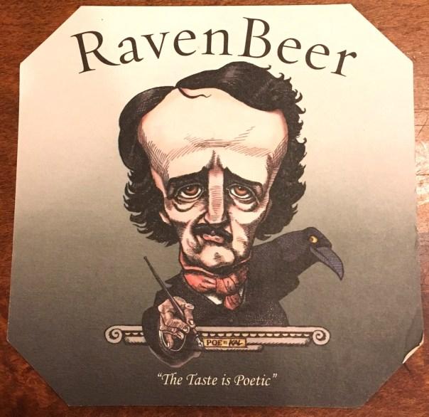 Raven Beer Coaster