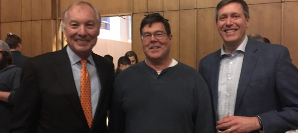 MD Comptroller, Peter Franchot, Warren and Kevin Atticks at Love Thy Beer