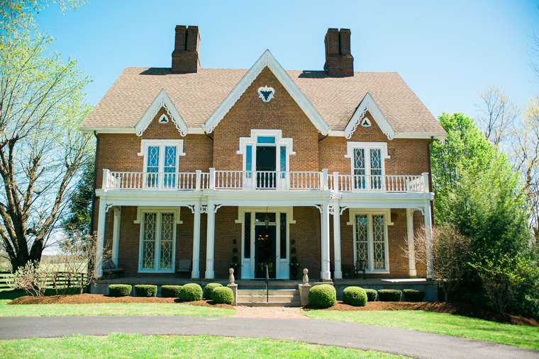 Spring at Warrenwood Manor, a central Kentucky wedding venue
