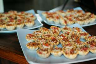 Mini Hot Browns made by Southern Plate Catering