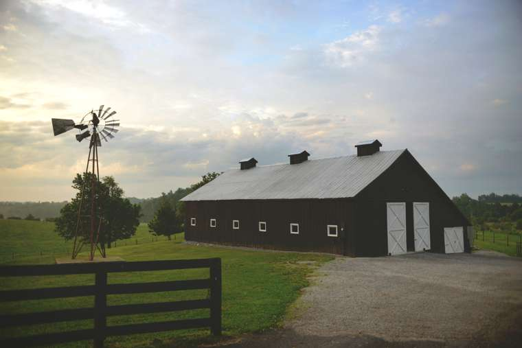 Wedding barn in Kentucky