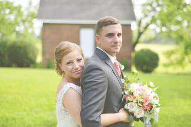 June wedding at Warrenwood Manor