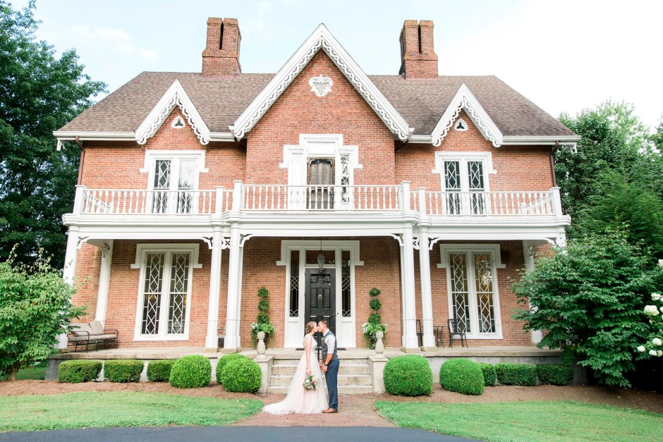 Romantic Ruby Wedding at Warrenwood Manor