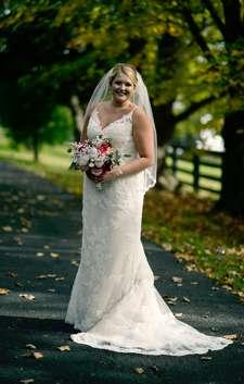 Bride at Classic Estate Wedding