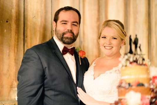 Refined rustic fall wedding at Warrenwood Manor