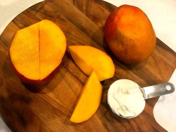 Mango Greek Yogurt Ingredients | www.warriorinthekitchen.com