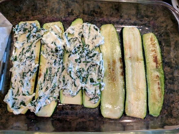 Zucchini Lasagna Prep