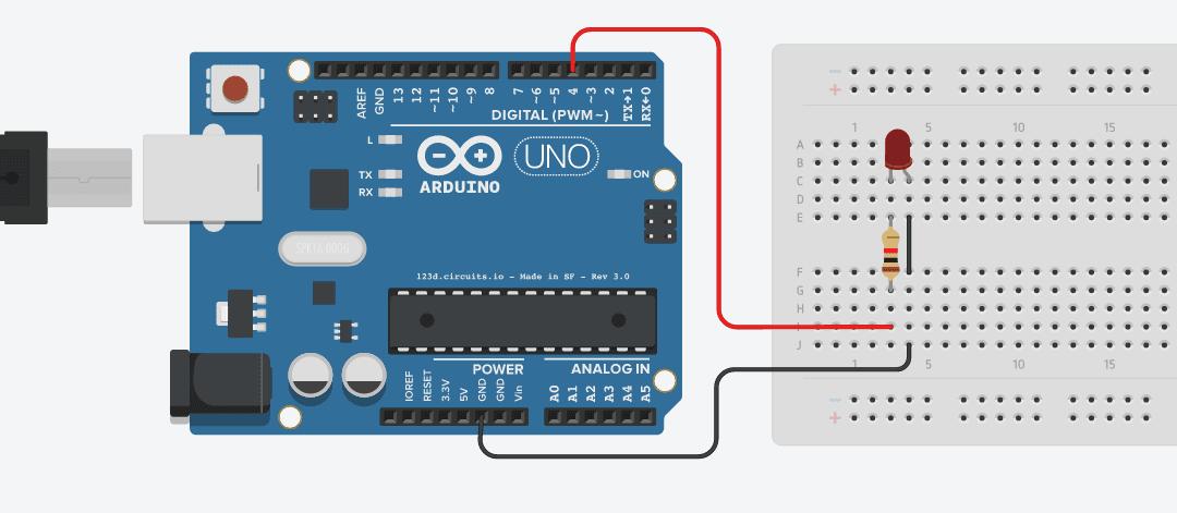 Menyalakan LED Menggunakan Arduino UNO baruuu