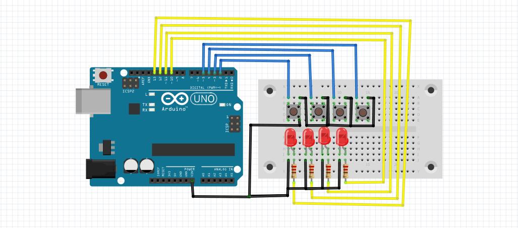 menyalakan-4-led-dengan-4-push-button-menggunakan-arduino-uno