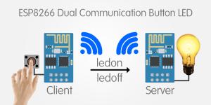 Komunikasi ESP8266 Untuk Menghidupkan LED