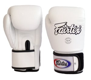 Fairtex Boxing Gloves GBV1 White