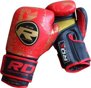 RDX Boxing Gloves BGX F4 Red