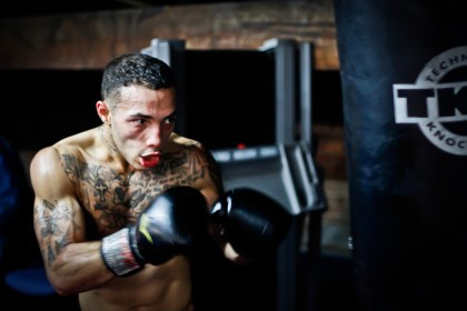 By learning boxing, you'll be able to beat most untrained guys your size.