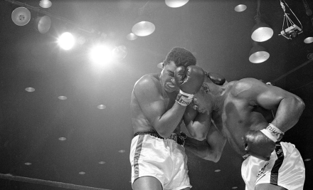 An epic moment in the history of boxing