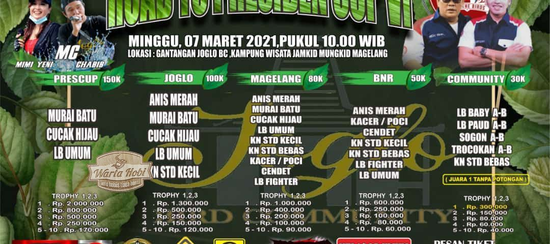 brosur lomba road to presiden cup 6 magelang 2021