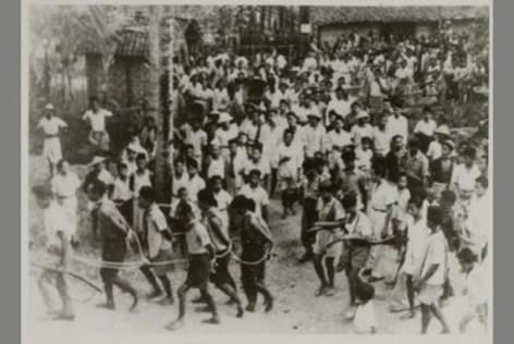 Massa PKI ditangkap di Madiun 1948