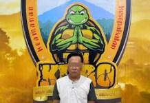 SND, Mantan Kades Wonoayu - Ranuyoso saat diamankan tim kuro polres lumajang