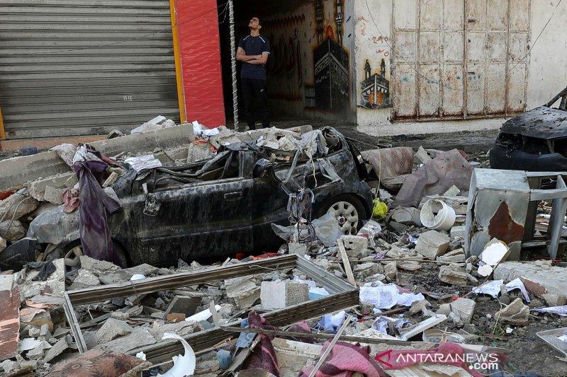Dampak serangan Israel di Gaza