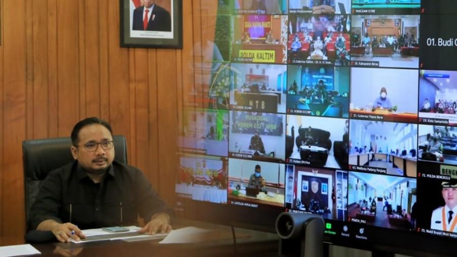 Wilayah PPKM Darurat, Daerah Zona Merah dan Oranye, Dilarang Salat Id di Masjid dan Lapangan