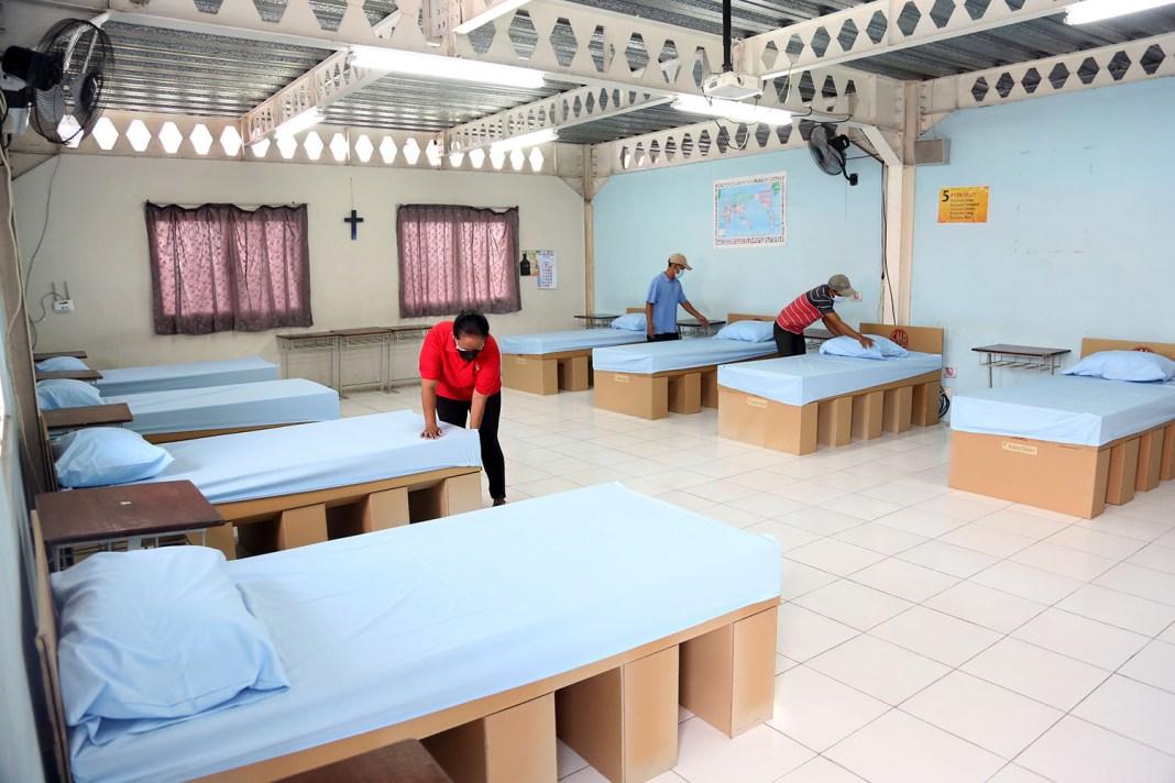 SPS dan SMB Pinjamkan Gedung Isoman Lengkap dengan Tempat Tidur