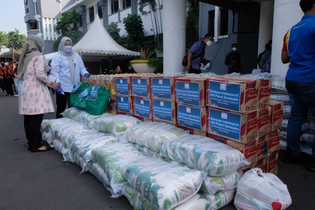 Bantuan Berdatangan untuk Percepatan Pananggulangan Covid di Surabaya