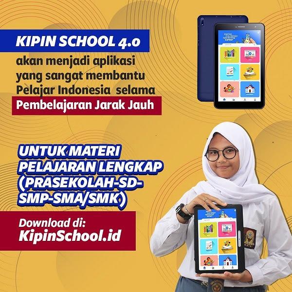 Kipin School Gratiskan Ribuan Konten Belajar untuk Seluruh Anak Indonesia