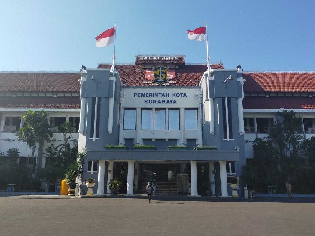 Kota Surabaya Siapkan Strategi Menuju Level 2