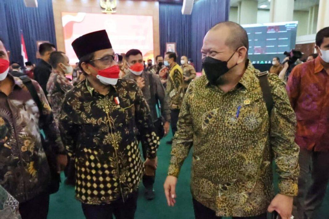 Ketua DPD RI: Sinergi dan Kerja Sama Kunci Keluar dari Krisis