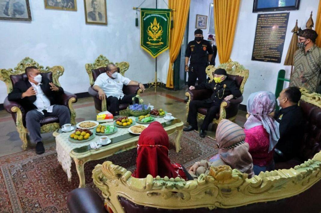 Kunker ke Sumedang, Ketua DPD RI Tinjau Lokasi Festival Adat Kerajaan Nusantara 2021