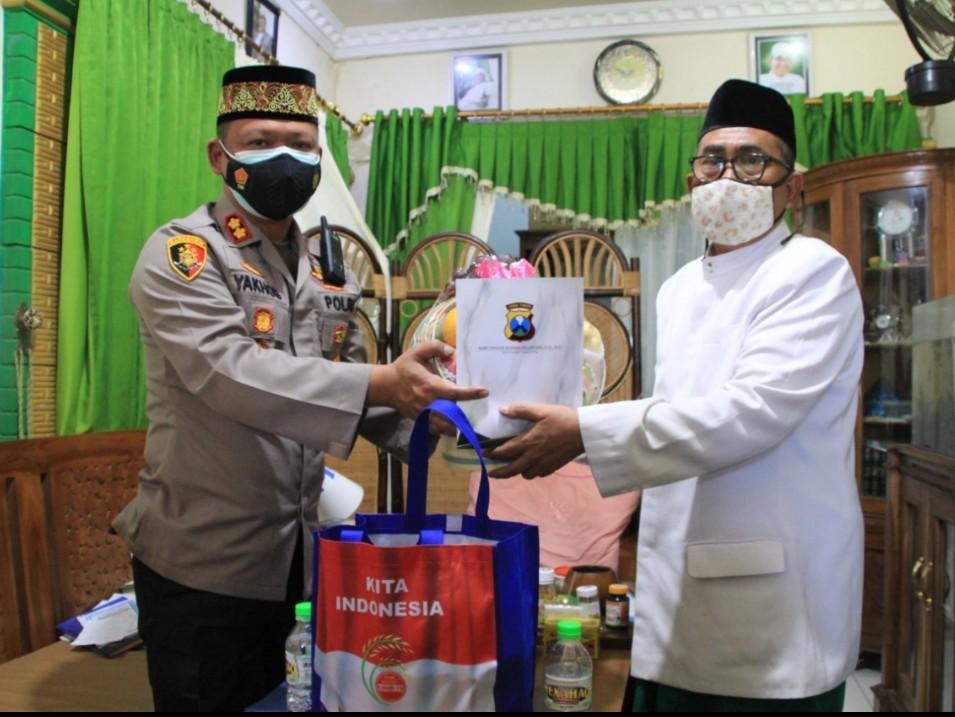 Awali Tugas Baru Kapolres Magetan Silaturahmi Dengan Pimpinan Muhammadiyah Dan NU