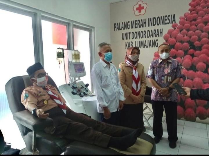 Donor Darah dan Donor Plazma Meriahkan Hari Pramuka ke 60