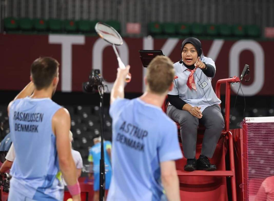 Guru SDN Sawunggaling Ini Jadi Wasit di Olimpiade Tokyo 2020, Bikin Bangga Surabaya