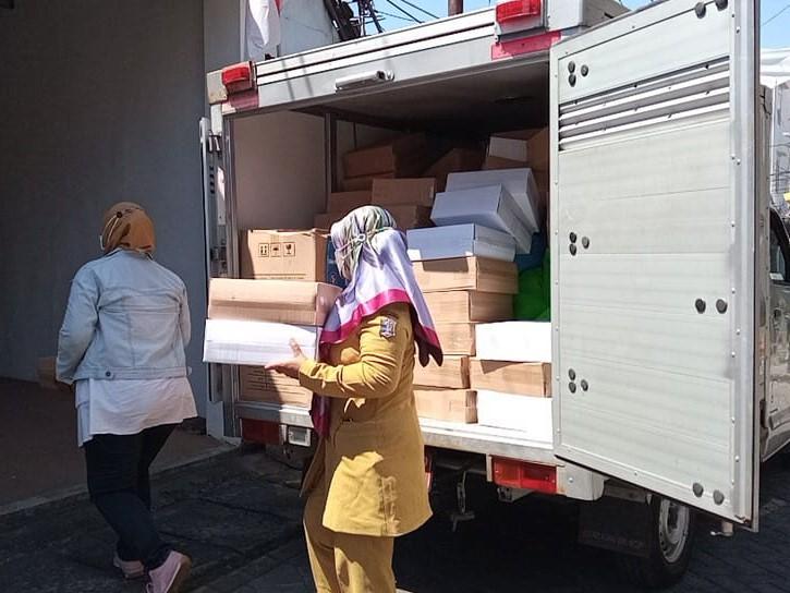 Veteran se-Surabaya Terima Bantuan Sembako