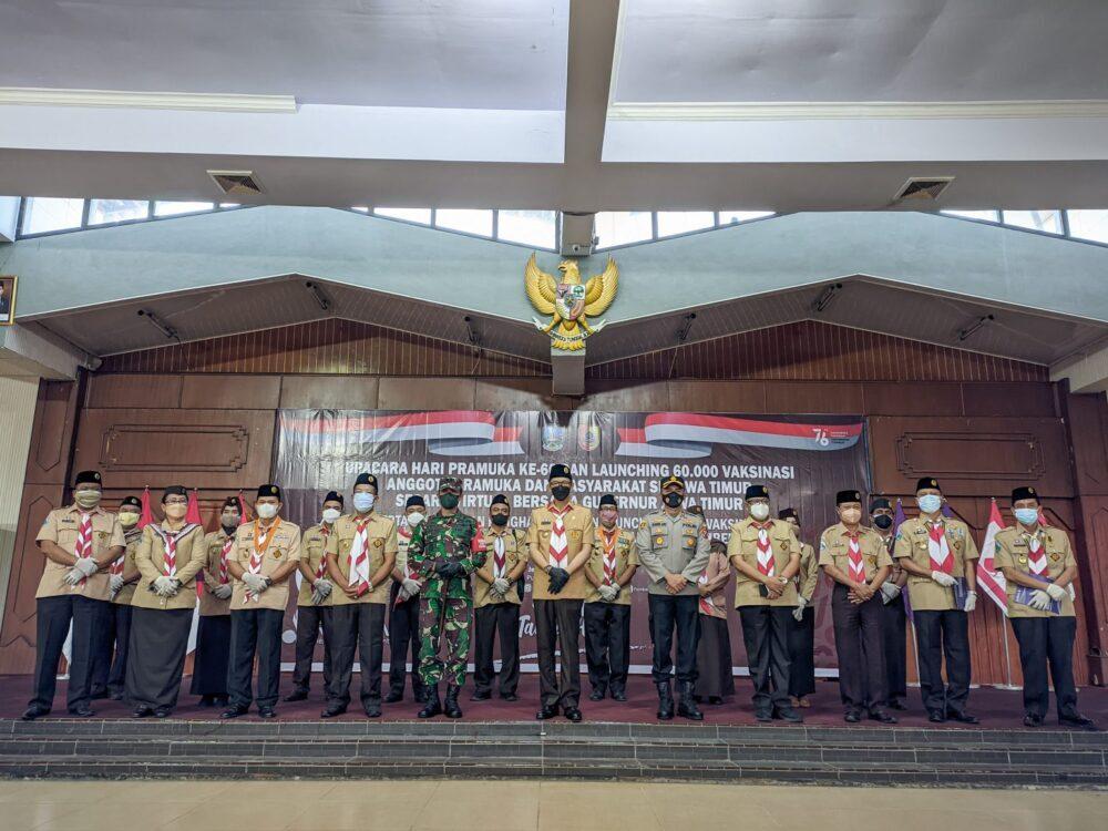 Anugerah Lencana Pancawarsa Pramuka Jember