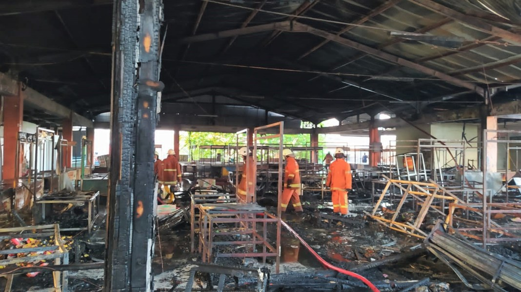 PD Pasar Siapkan Tiga Tempat Relokasi Pedagang Pasar Kembang