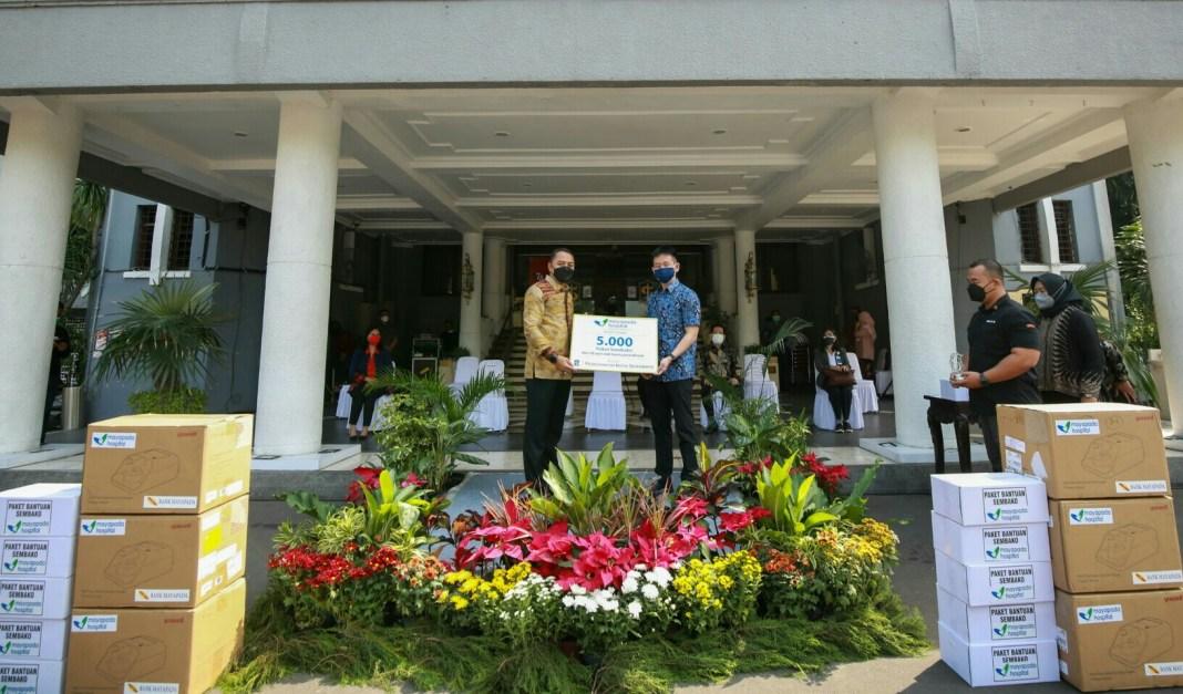 Pemkot Surabaya Kembali Terima Bantuan Kemanusiaan