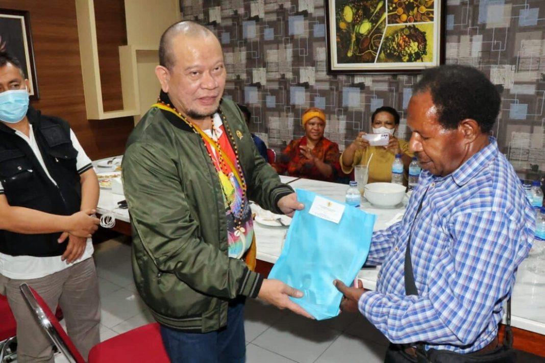 Kepala Suku di Papua Dukung LaNyalla Lanjutkan Program Jokowi di Bumi Cendrawasih