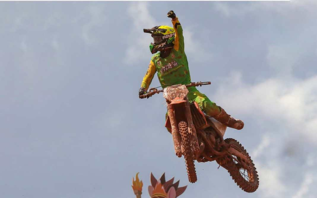 Jatim Amankan Medali Emas Motocross