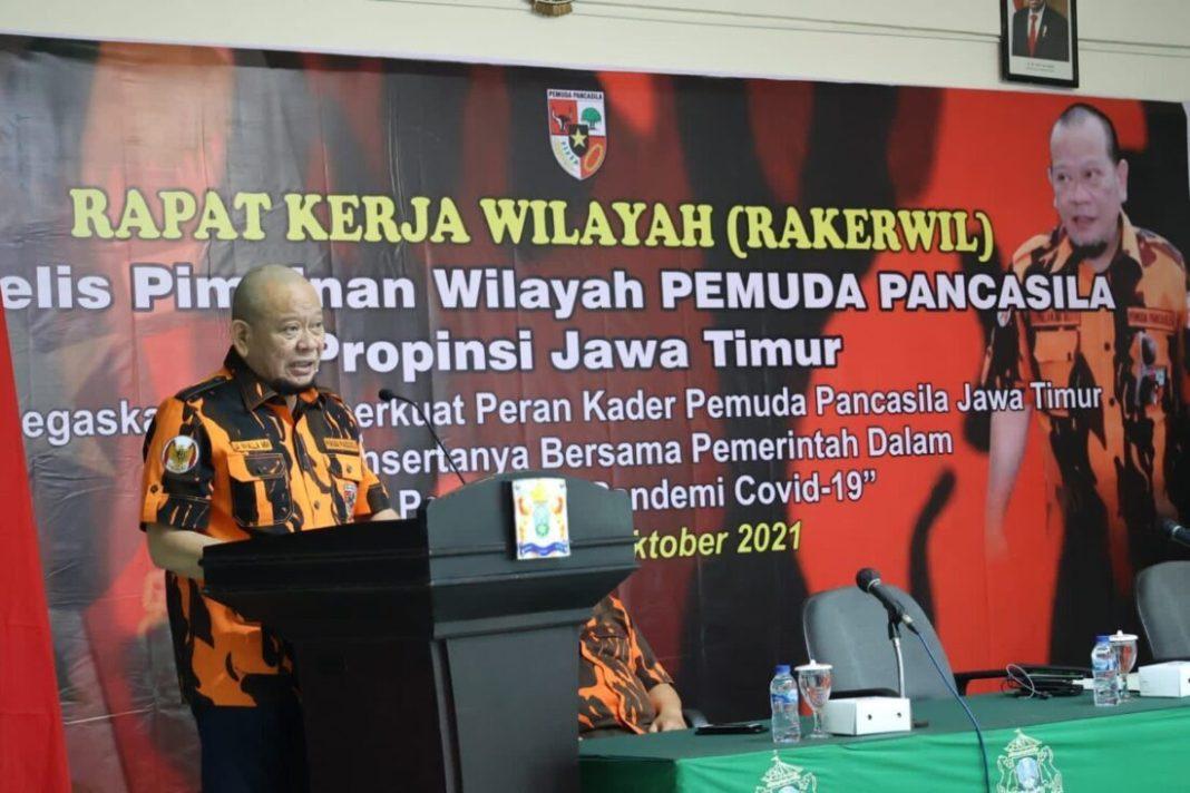 LaNyalla Ajak Kader PP Bantu Masyarakat Secara Konkret