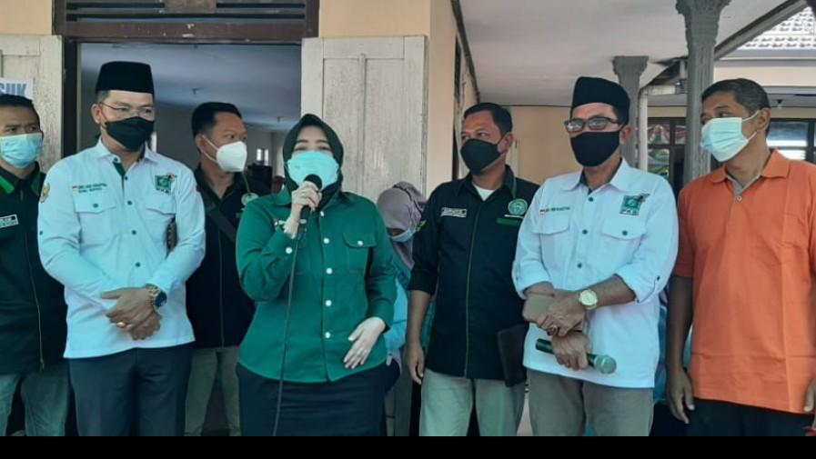DPW PKB Jatim Gelar Vaksin Massal Di Kecamatan Panekan Magetan
