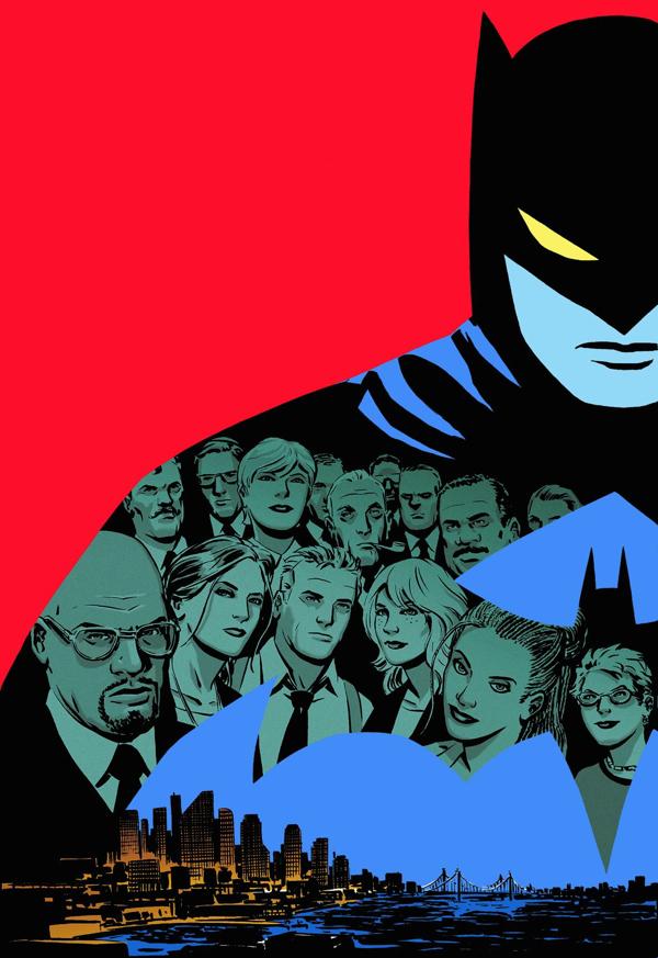 Difficile de justifier l'absence de Batman, dont la présence discrète compte énormément dans Gotham Central