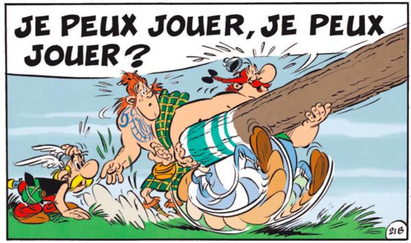 Ce matin, le quotidien Le Parisien publiait une nouvelle case inédite. Aura-t-on l'album complet en kit avant sa sortie ?