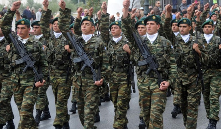 Greek Army ready for Turk Nation